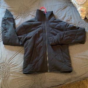 Reversible lululemon high neck jacket
